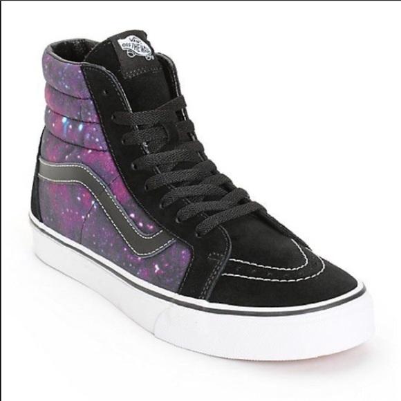 Vans Shoes | Sk8hi Galaxy Cosmic High